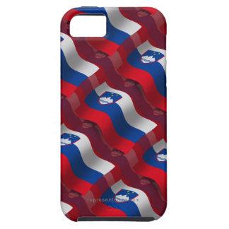 Bandera que agita de Eslovenia Funda Para iPhone SE/5/5s