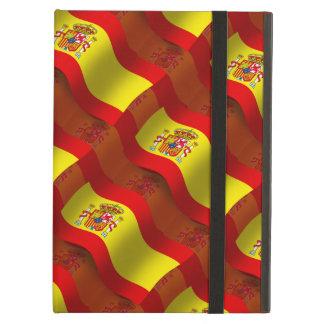 Bandera que agita de España