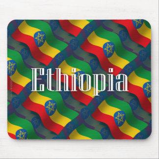 Bandera que agita de Etiopía Tapetes De Ratones
