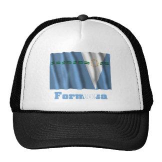 Bandera que agita de Formosa con nombre Gorra