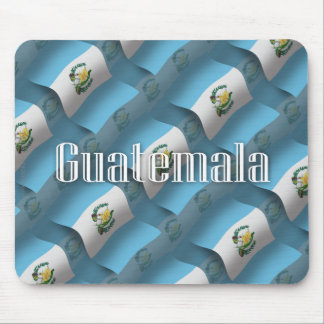 Bandera que agita de Guatemala Tapete De Raton