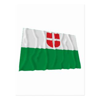 Bandera que agita de Harju Tarjeta Postal