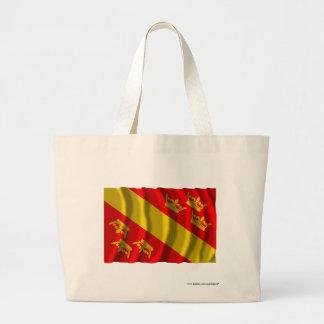 Bandera que agita de Haut-Rhin Bolsa