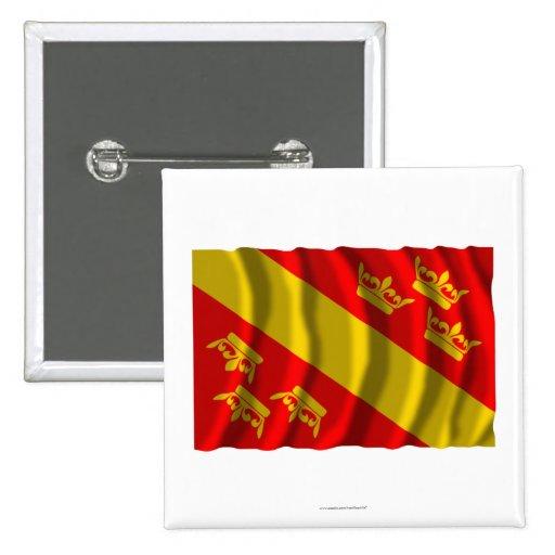 Bandera que agita de Haut-Rhin Pins