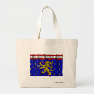 Bandera que agita de Haute-Saône Bolsa Lienzo