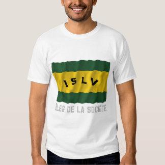 Bandera que agita de Îles de la Société con nombre Remera