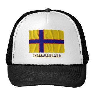Bandera que agita de Ingermanland con nombre Gorras De Camionero