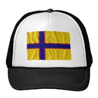 Bandera que agita de Ingermanland Gorros Bordados