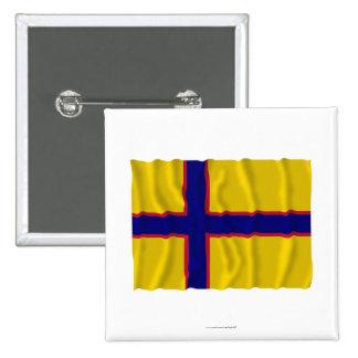 Bandera que agita de Ingermanland Pin