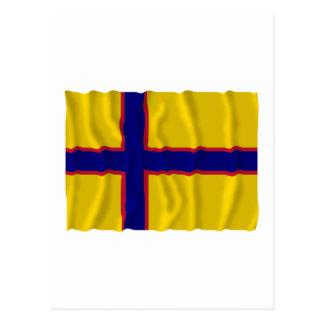 Bandera que agita de Ingermanland Postales