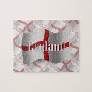 Bandera que agita de Inglaterra Puzzle