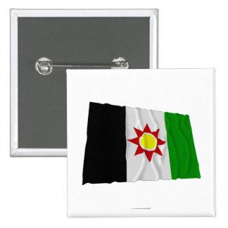 Bandera que agita de Iraq (1959-1963) Pin