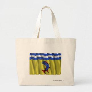Bandera que agita de Isère Bolsa