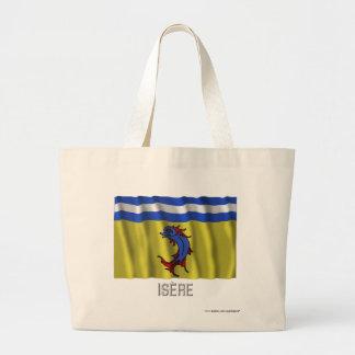 Bandera que agita de Isère con nombre Bolsa