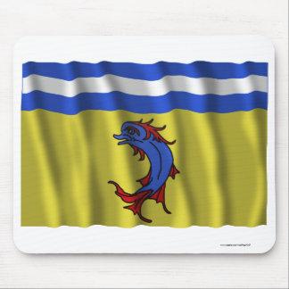Bandera que agita de Isère Alfombrilla De Raton