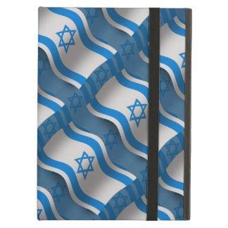 Bandera que agita de Israel