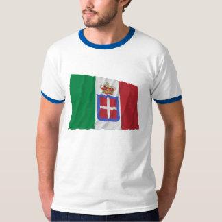 Bandera que agita de Italia (1861-1946) Polera