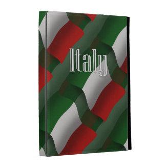 Bandera que agita de Italia