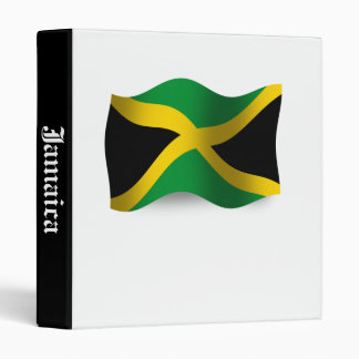 "Bandera que agita de Jamaica Carpeta 1"""