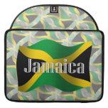 Bandera que agita de Jamaica Funda Para Macbook Pro
