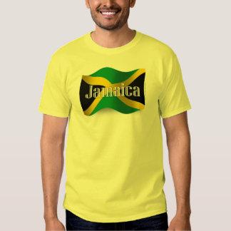 Bandera que agita de Jamaica Playeras