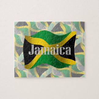 Bandera que agita de Jamaica Rompecabezas