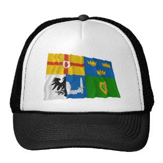 Bandera que agita de la Cuatro-Provincia Gorros Bordados