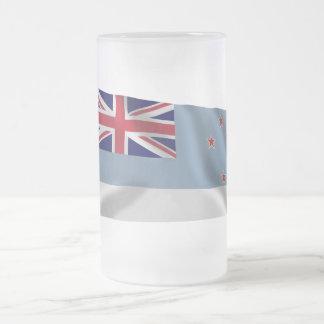 Bandera que agita de la dependencia de Ross Taza Cristal Mate