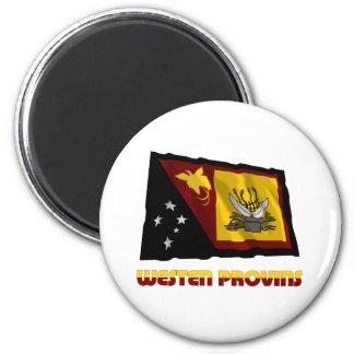 Bandera que agita (de la mosca de la provincia occ imanes