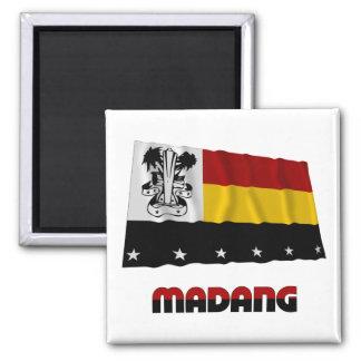 Bandera que agita de la provincia de Madang Imán Para Frigorífico