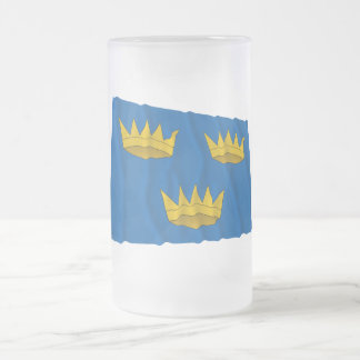 Bandera que agita de la provincia de Munster Taza De Café