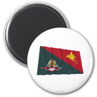 Bandera que agita de la provincia del este de Sepi Imanes De Nevera
