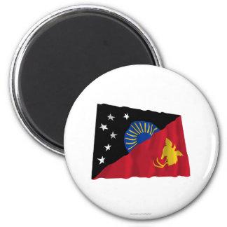 Bandera que agita de la provincia del oeste de Sep Imán De Nevera