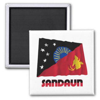 Bandera que agita de la provincia del oeste de Sep Iman De Frigorífico