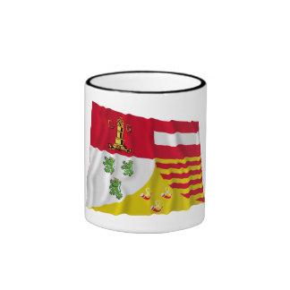 Bandera que agita de Liège Taza A Dos Colores