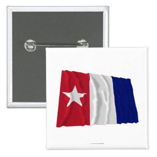 Bandera que agita de los voluntarios de Harrisburg Pin