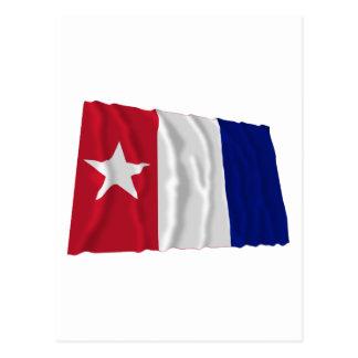 Bandera que agita de los voluntarios de Harrisburg Postal