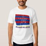 Bandera que agita de Magdalena con nombre Camisas
