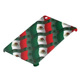 Bandera que agita de México iPad Mini Cárcasas