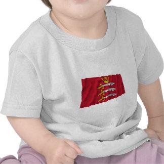 Bandera que agita de Middlesex Camiseta
