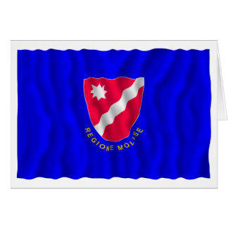 Bandera que agita de Molise Felicitación