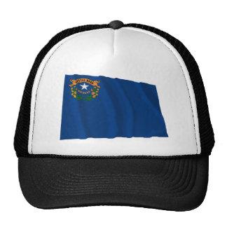Bandera que agita de Nevada Gorro De Camionero