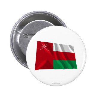 Bandera que agita de Omán Pins