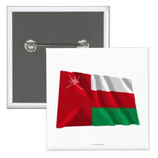 Bandera que agita de Omán Pin