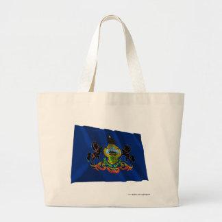 Bandera que agita de Pennsylvania Bolsas