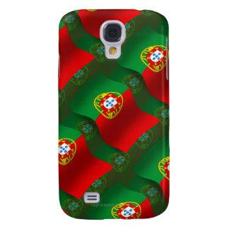 Bandera que agita de Portugal Funda Para Galaxy S4