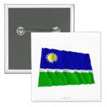 Bandera que agita de Portuguesa Pins