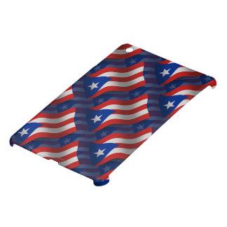 Bandera que agita de Puerto Rico iPad Mini Cárcasa