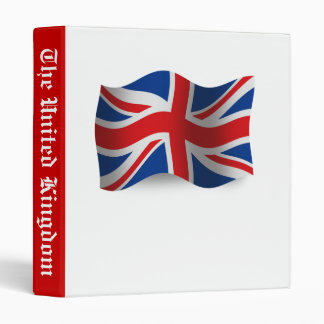 """Bandera que agita de Reino Unido Carpeta 1"""""""