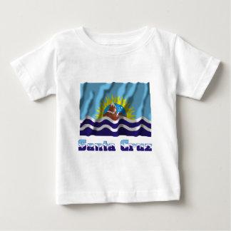 Bandera que agita de Santa Cruz con nombre T Shirt